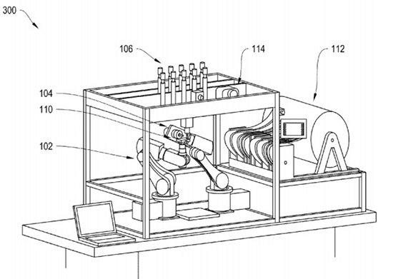 iRobot Patents an Autonomous Robotic Fabricator