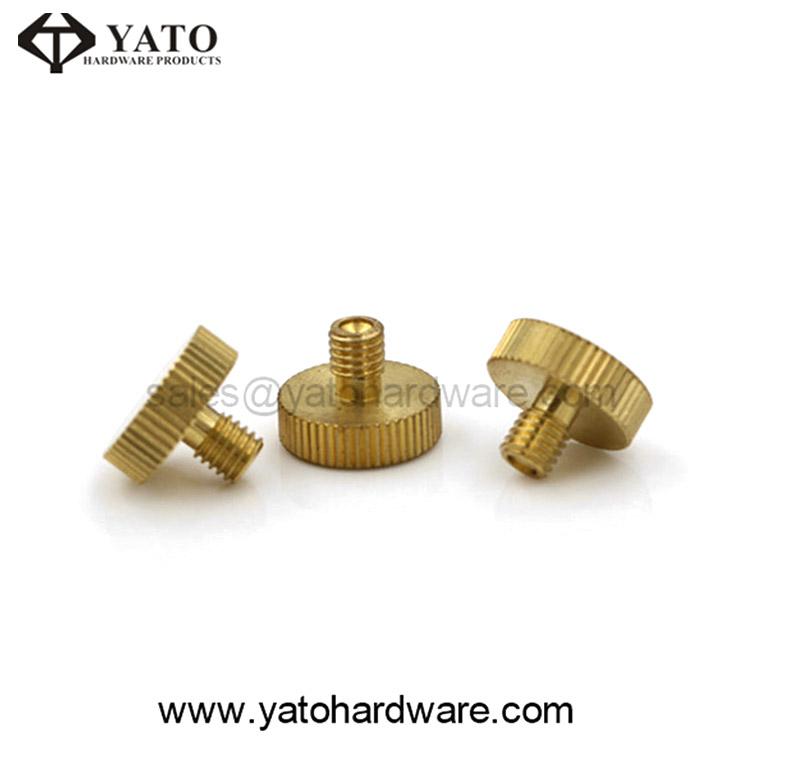 OEM Custom Fastener Precision Brass Flat Head