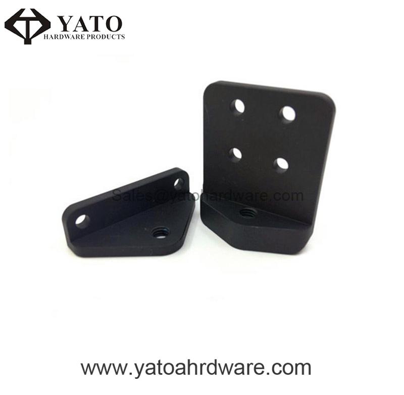 Black Anodized Aluminum Braket