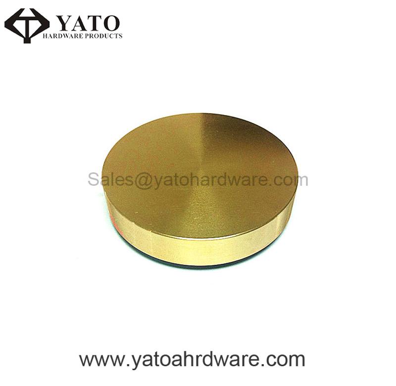 CNC Machining and Polished Brass Cap