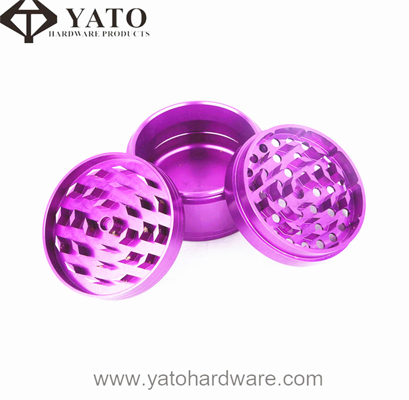 CNC Machined Purple Anodized Aluminum Parts