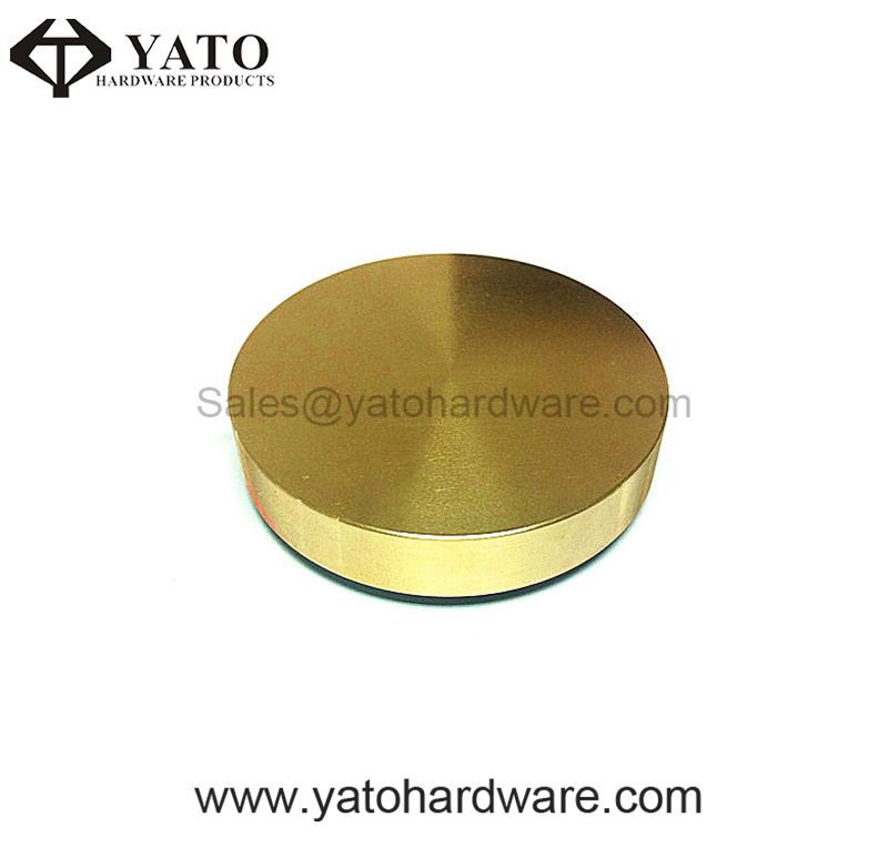 CNC Machining and Polished Brass Cap